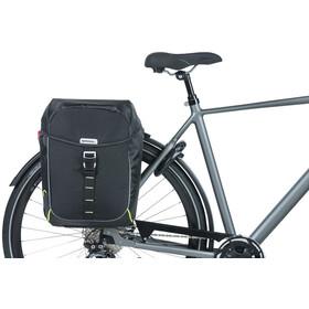 Basil Miles Sacoche vélo double 34l, black lime